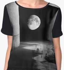 To the Moon Chiffon Top