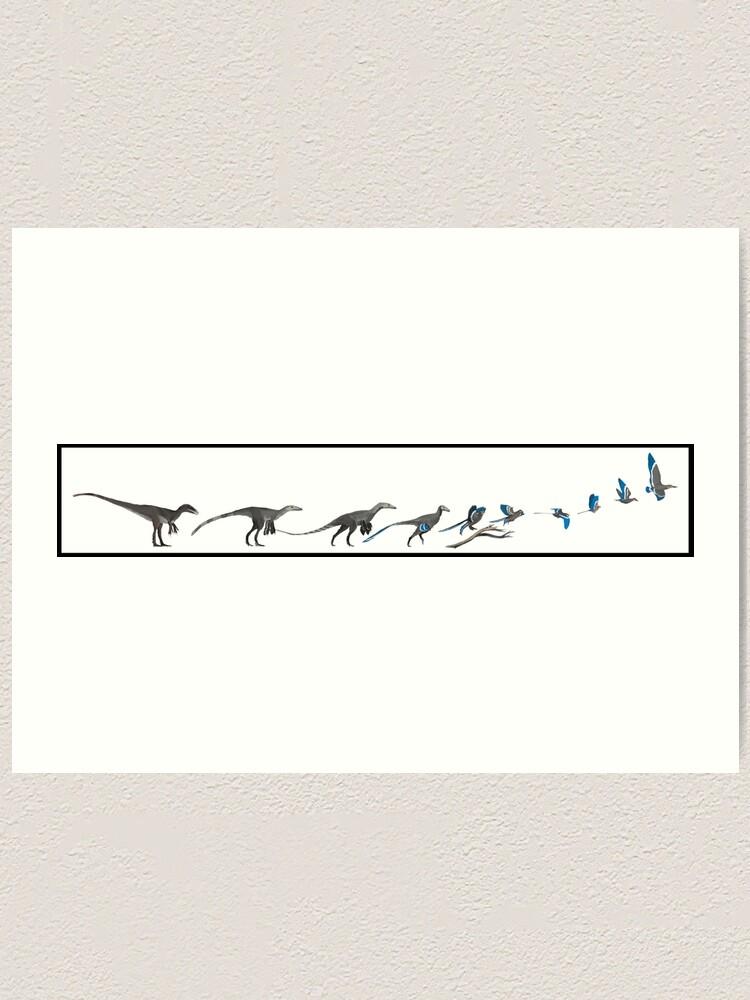 Alternate view of The Ascent of Bird Art Print