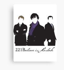 221Believe Canvas Print