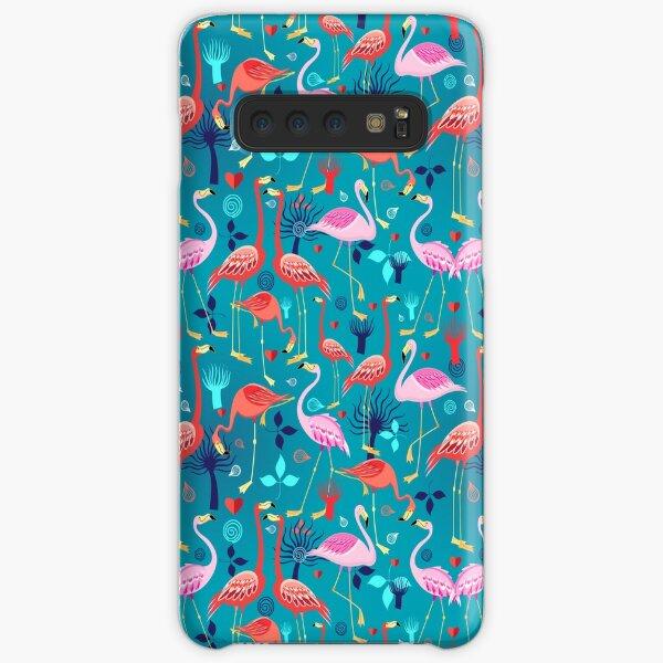 beautiful pattern lovers flamingo Samsung Galaxy Snap Case