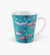 beautiful pattern lovers flamingo Tall Mug