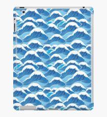 sea wave pattern iPad Case/Skin