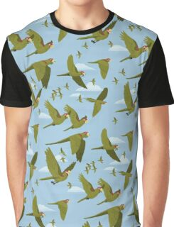 Parakeet Migration Graphic T-Shirt
