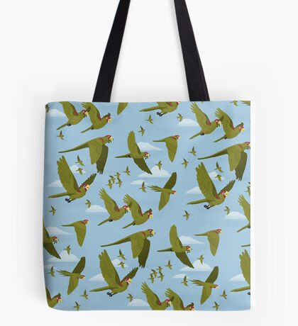 Parakeet Migration Tote Bag