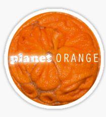 Planet Orange - Goblin Children Sticker