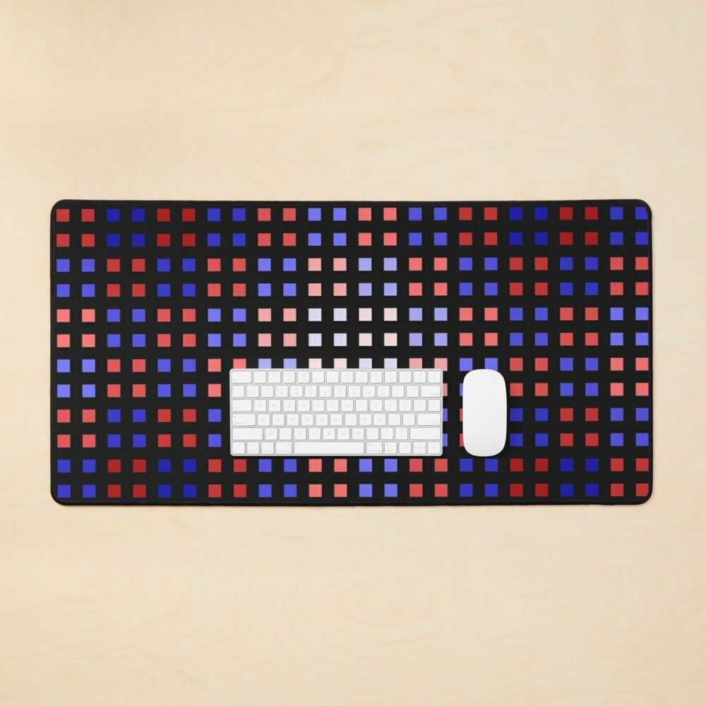 Red-Blue Shift Mouse Pad