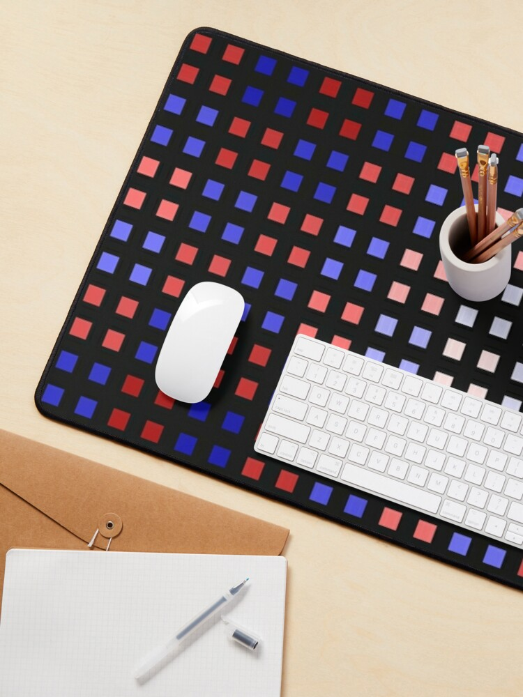 Alternate view of Red-Blue Shift Mouse Pad