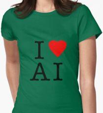 I Love (Heart) Ai Artificial intelligence  Ny parody T-Shirt