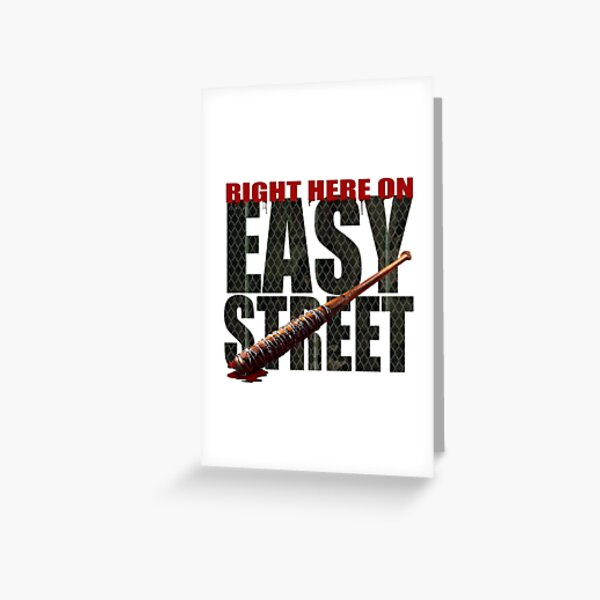 The Walking Dead - Easy Street Greeting Card