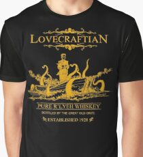 Lovecraftian - R'lyeh Whiskey Gold Label Graphic T-Shirt