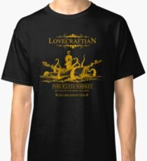 Lovecraftian - R'lyeh Whiskey Gold Label Classic T-Shirt