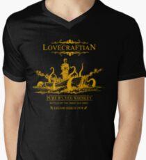Lovecraftian - R'lyeh Whiskey Gold Label Men's V-Neck T-Shirt