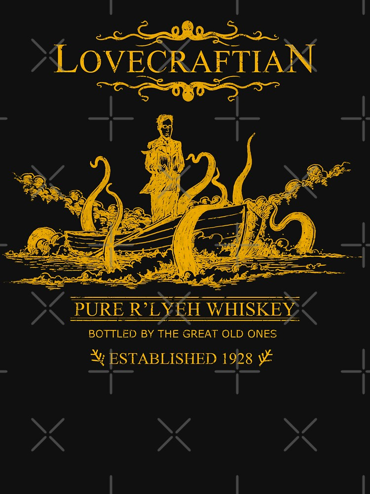 Lovecraftian - R'lyeh Whiskey Gold Label | Unisex T-Shirt