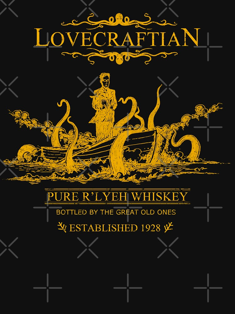 Lovecraftian - R'lyeh Whisky Gold Label von pigboom