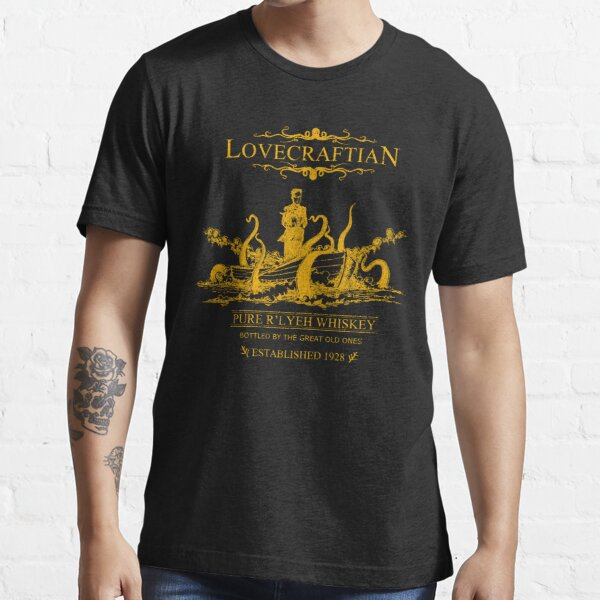 Lovecraftian - R'lyeh Whiskey Gold Label Essential T-Shirt