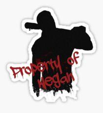 The Walking Dead - Property of Negan Sticker