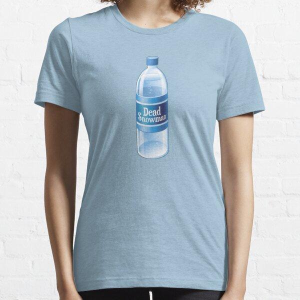 Dead Snowman Melted Bottled Water Essential T-Shirt