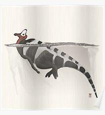 Corythosaurus Poster