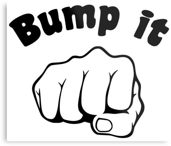 Fist bump it metal prints by theshirtyurt redbubble fist bump it by theshirtyurt m4hsunfo