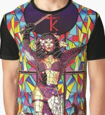 Stained glass design: Kate Bush Graphic T-Shirt