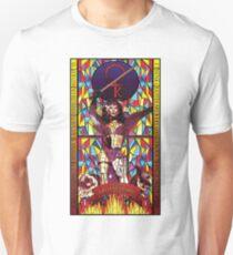 Stained glass design: Kate Bush Unisex T-Shirt