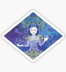 Bilberry Queen Sticker