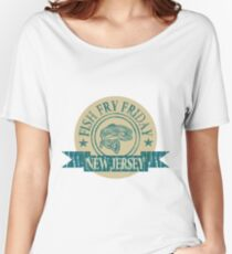 NEW JERSEY FISH FRY Women's Relaxed Fit T-Shirt