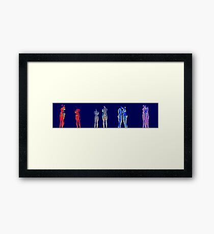 Love me or leave me .... Framed Print