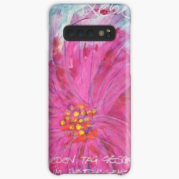Frühlingserwachen: »pink daisy« Samsung Galaxy Leichte Hülle
