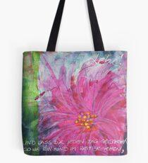 Frühlingserwachen: »pink daisy« Tasche