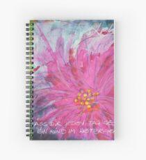 Frühlingserwachen: »pink daisy« Spiralblock