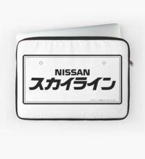 NISSAN N カ ン ン (NISSAN Skyline) black Laptop Sleeve