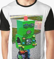 Robot Fashionista Graphic T-Shirt