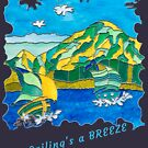 SAILING'S A BREEZE - OCEAN ART by Nicola Furlong