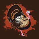 Wild Turkey by Maxwbender