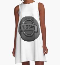 NISSAN A-Linien Kleid