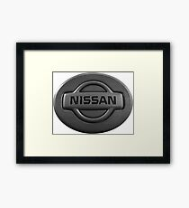 NISSAN Framed Print