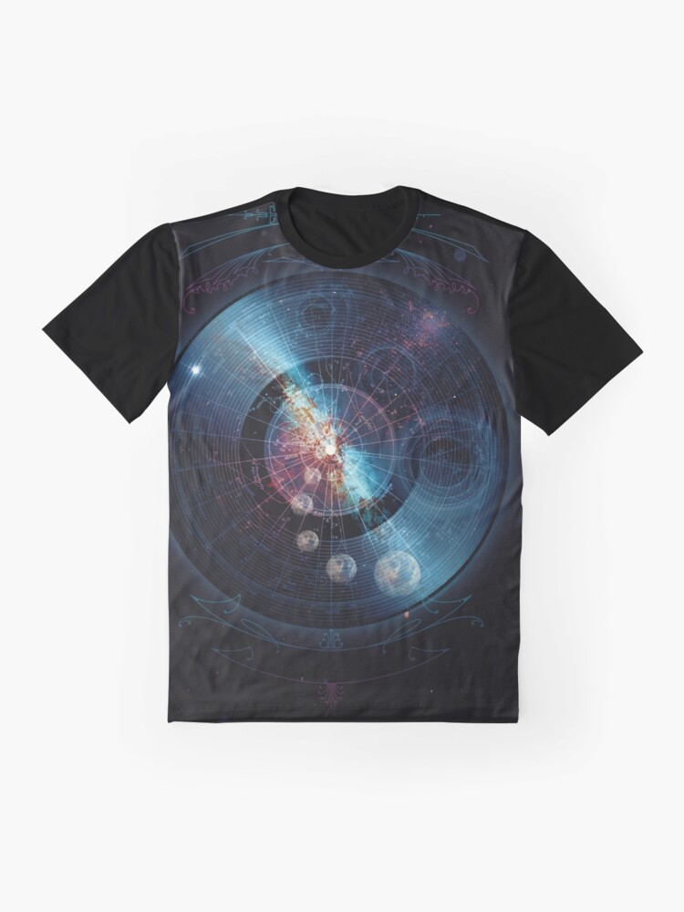 Alternate view of Space Music Graphic T-Shirt
