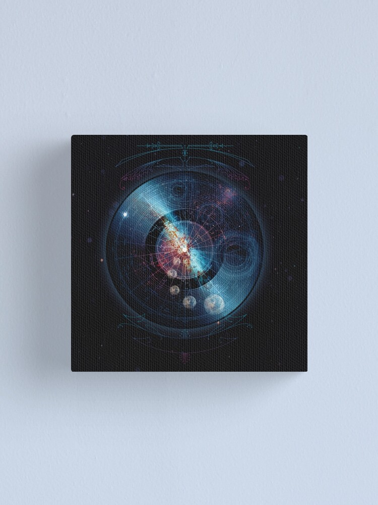 Alternate view of Space Music Canvas Print