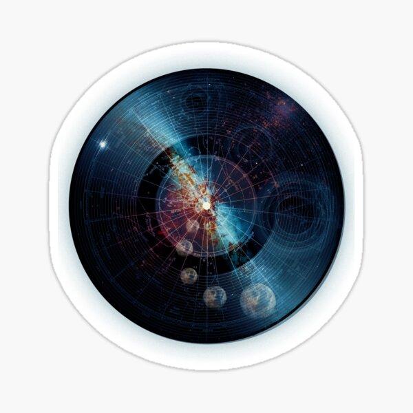 Space Music Sticker