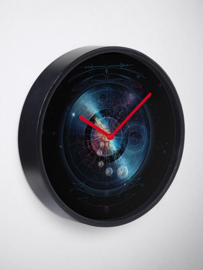 Alternate view of Space Music Clock