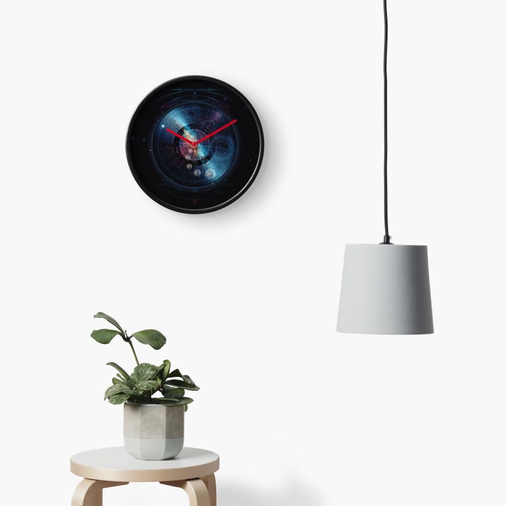 Space Music Clock