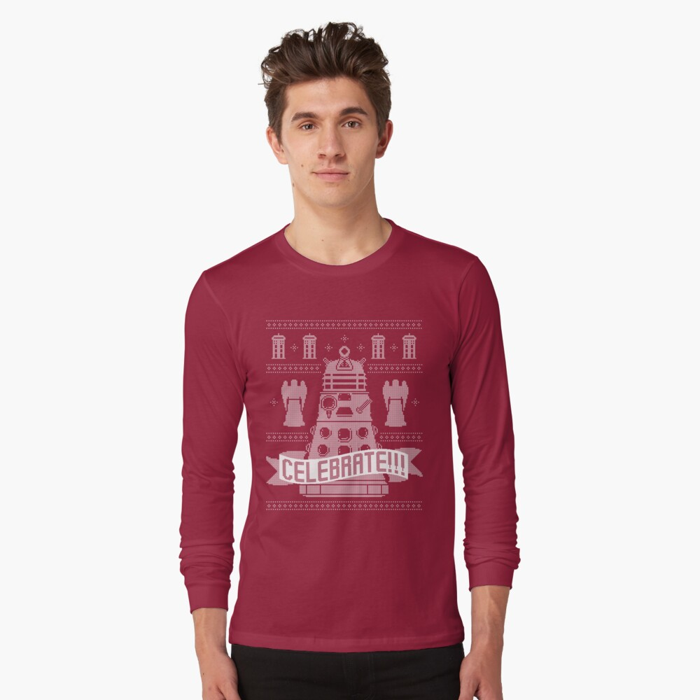 CELEBRATE!!! Long Sleeve T-Shirt Front