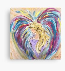 Give Her Wings Angel Canvas Print