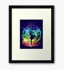 water tribe storm Framed Print