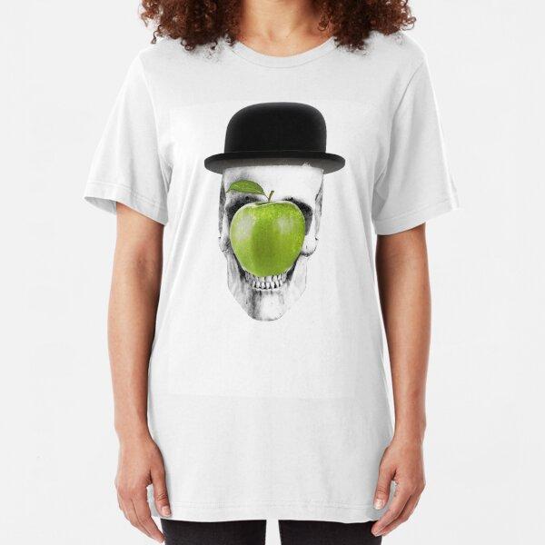 Magritte Skull Slim Fit T-Shirt