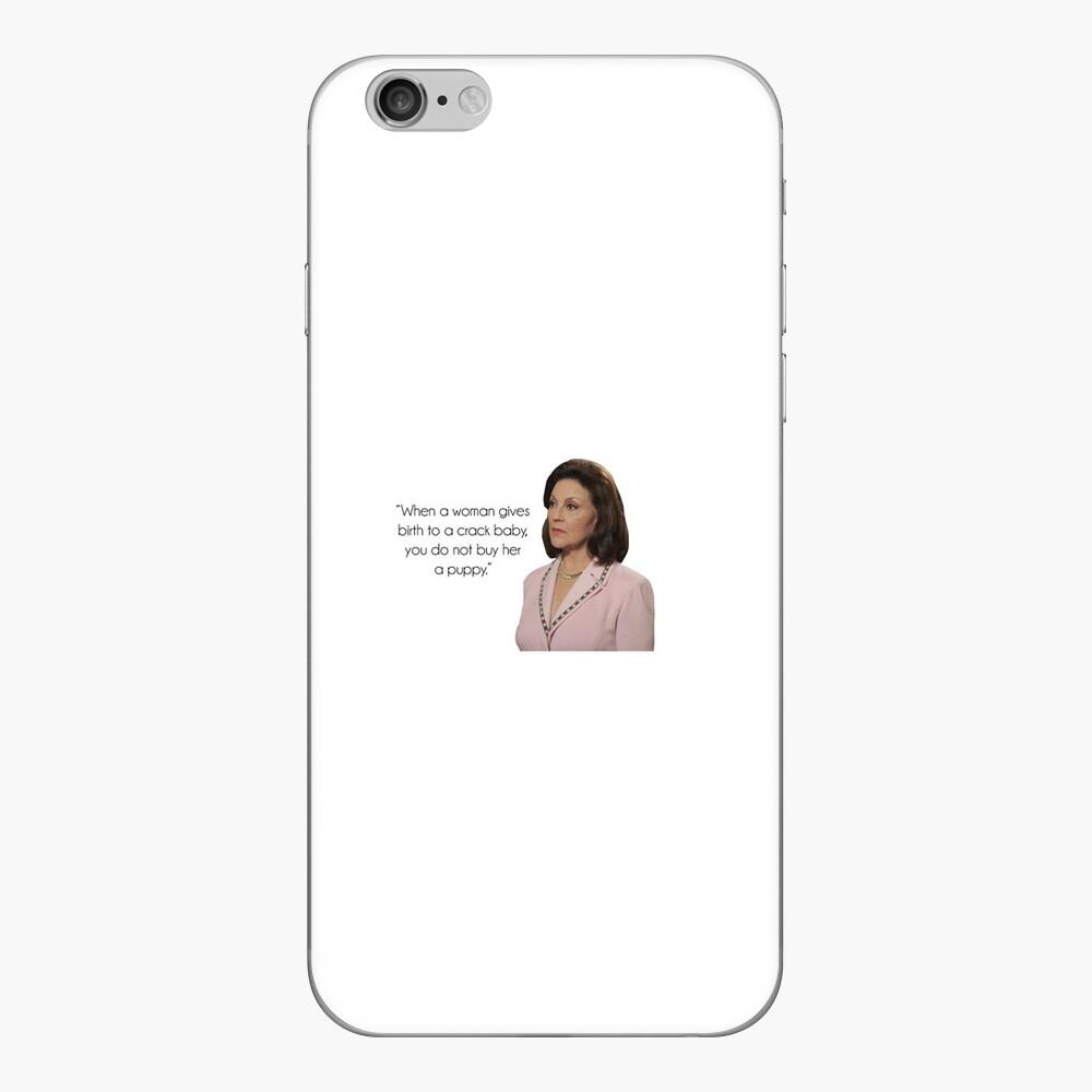 Emily Gilmore iPhone Skin