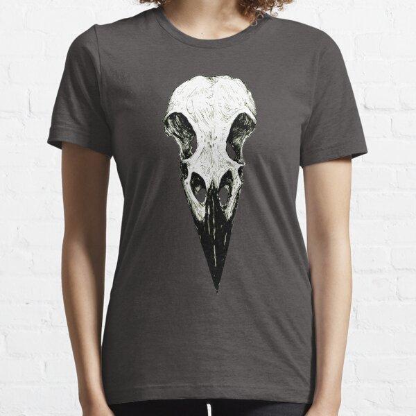 Raven Skull Essential T-Shirt