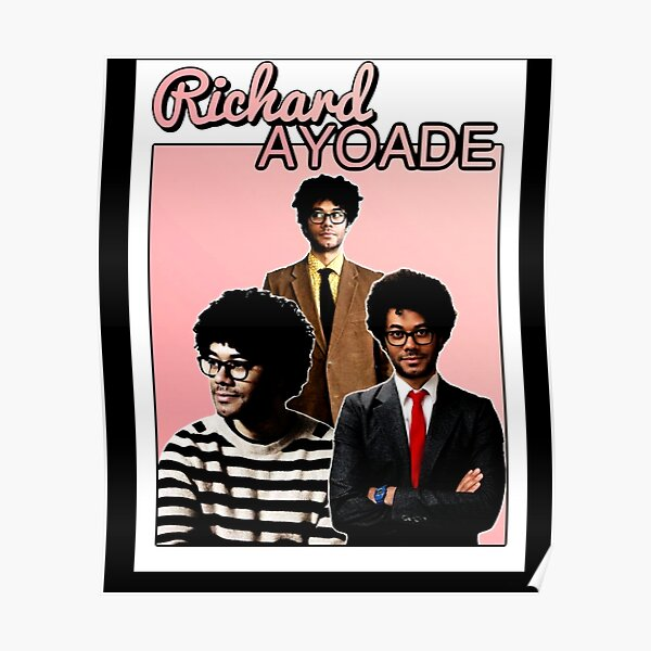 Richard Ayoade Homage Poster