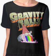 gravity falls gnome puke Chiffon Top